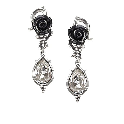 England Roses (Bacchanal Rose Pair of Earrings by Alchemy Gothic)