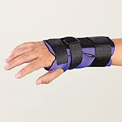 Sammons Preston 55060217 Breathoprene Pediatric Wrist Splint, Right, Small, Orthopedic Support Brace for Tendonitis, Inflammation, Carpal Tunnel, Thumb