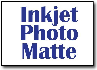 e Photo Cardstock for Inkjet Printers - Heavyweight 80lb Cover - 50 Sheets ()