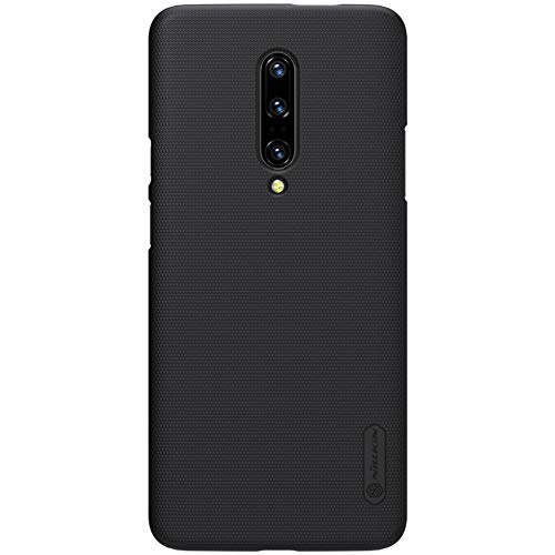 Oneplus 7 Pro Case, Nillkin Frosted Shield Hard Slim Case Back Cover for Oneplus 7 Pro - Black