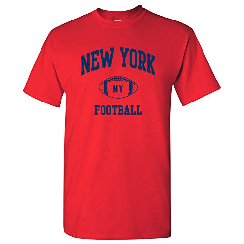 New York Classic Football Arch - New York Pride T Shirt - 2X-Large - -