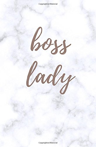 Download Boss Lady: Boss Lady Notebook; Boss Lady Journal; Softback Blank Lined Marble Notebook; 5.25 x 8 PDF