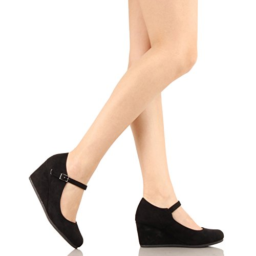 Image of Guilty Heart | Womens Classic Mary Jane Shoe | Comfortable Walking Round Toe