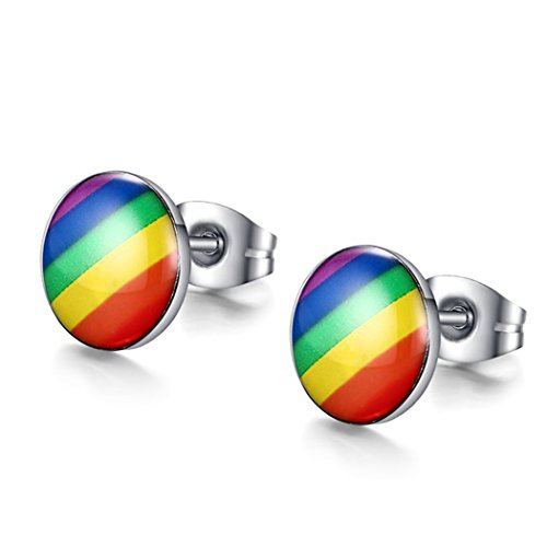 Time Pawnshop Rainbow Stainless Steel Classic Round Unisex - Mens Wallets Couch