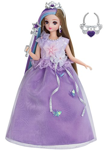 Takara Tomy Rika Chan Robe Ensemble Violet Fleur Princesse : 872