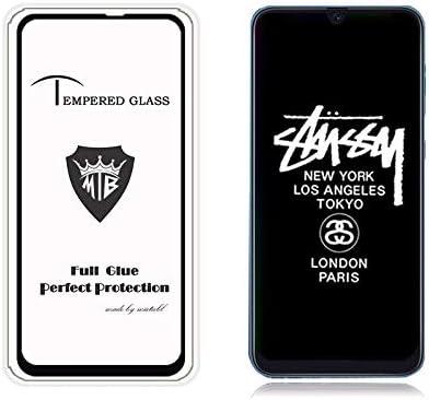 LIZOAN JSJHSX AYSMG 25 PCS for Galaxy M20 Fingerprint Proof Full Screen Tempered Glass Film