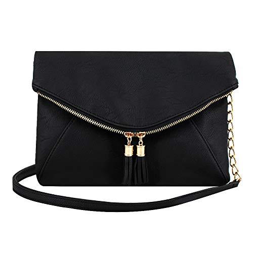Heidi Bag Small Soft Leather Shoulder Crossbody Bag Zipper Clutch Phone Wallet Purse