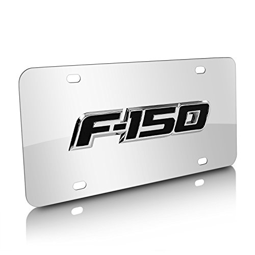 Ford F-150 Logo Chrome Stainless Steel License Plate