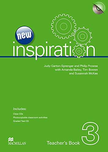 New Inspiration Level 3: Teacher's Book, Test CD and Audio CD Pack ebook