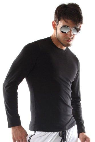 OBOY CASUAL Langarm Shirt (schwarz)