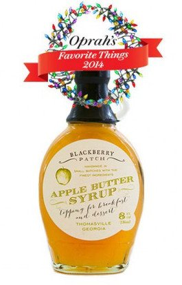 Apple Blackberry - Apple Butter Syrup 3 Ingredients - Blackberry Patch 8 oz Bottle – Oprah's Favorite Things 2014, Small Batch & Handmade, Perfect on Pancakes, Waffles & French Toast, Great Dessert Topping