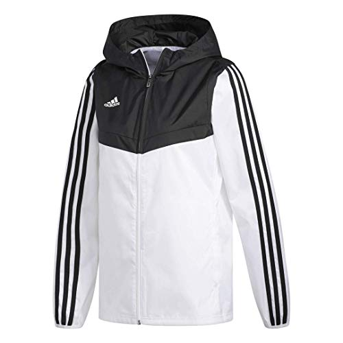 Tiro Jersey Womens Adidas - adidas Women's Alphaskin Tiro Windbreaker, White/Black, Large