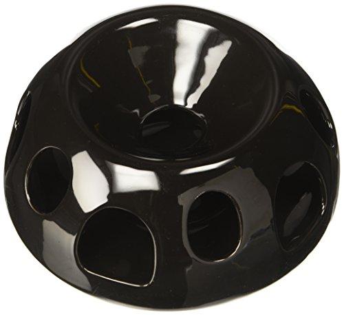 Diner Pet Dish - Pioneer Pet Tiger Diner Ceramic Food Dish/Bowl, Black
