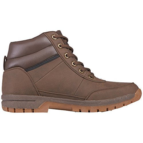 Adulto Mid Unisex 5050 Brown Combat Bright Light Marrone Stivali Kappa anYgYF