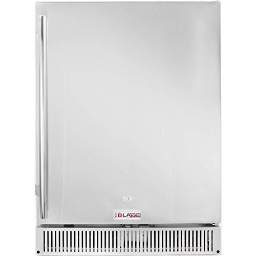 Price comparison product image Blaze 24-inch Outdoor Rated Stainless Steel Refrigerator (BLZ-SSRF-50DH),  5.2 Cu Ft.