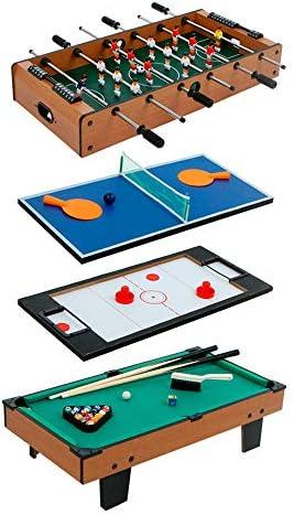 COLORBABY - Mesa multijuegos (Sobremesa 4 en 1): Amazon.es: Juguetes y juegos