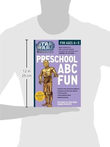Amazon.com: Star Wars Workbook: Preschool ABC Fun (9780761178033 ...