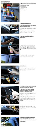 Chevy Malibu 4pcs Tape-On Window Visor Deflector Rain Guard