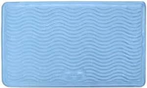 "Rubbermaid Medium Rubber Bath Mat, Blue 14"" x 24"""
