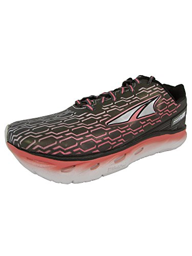Altra Women's Impulse Flash Sneaker, Black/Sugar Coral, 8 D US