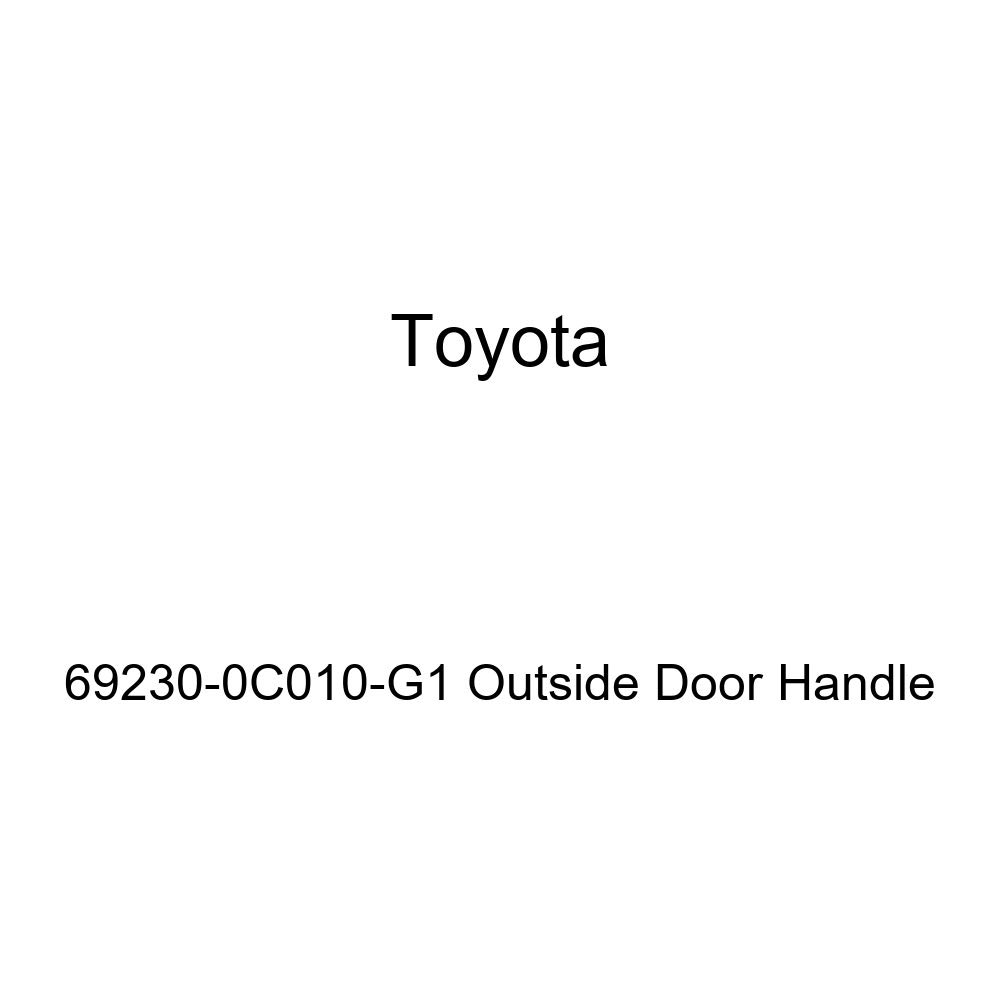 Toyota 69230-0C010-G1 Outside Door Handle