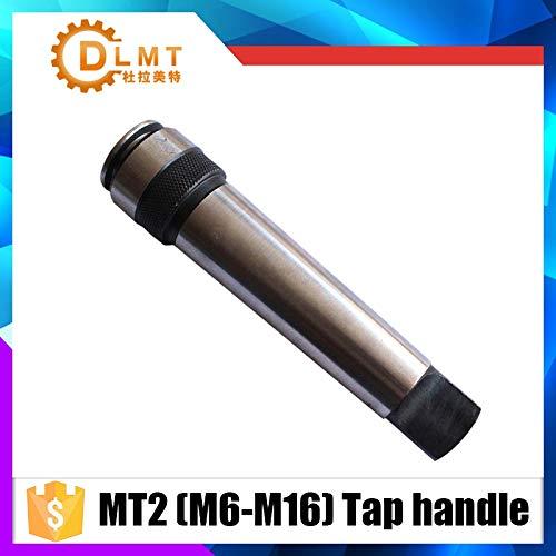 (Anncus M6/M7/M8/M10/M12/M14/M16 with MT2 Taper Tap Rod Superior Quality 2# Morse Taper Jacket - (Hole Diameter: MT2-M16))