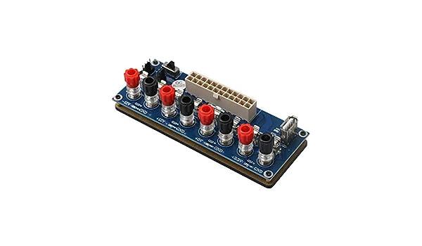 RDEXP ATX - Placa adaptadora para Fuente de alimentación de PC con ...