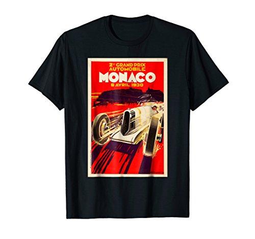 Monaco Vintage Grand Prix 1930 Race Car Poster (Mens Grande)