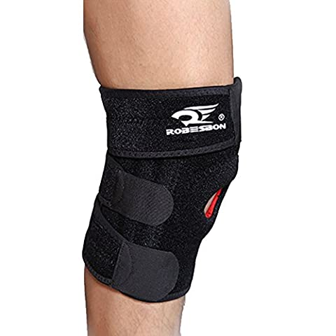 ATOROR Knee Brace-Open Patella Protector Wrap,Adjustable,lightweight--Support Sleeve For Arthritis,ACL,MeniscusTear,Hiking,Running,Biking,Basketball,Badminton,Tenn is,Athletic,Outdoor (Wrap Brackets)