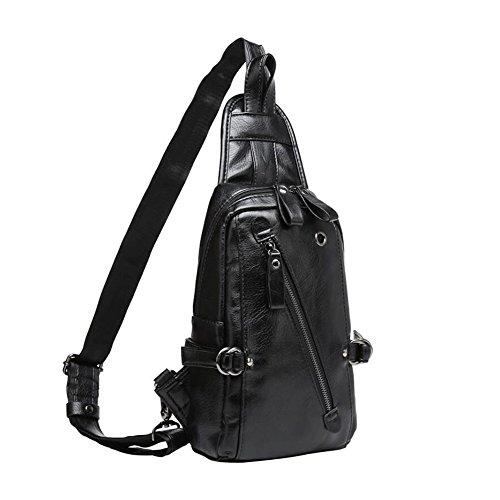 Men's Pack Chest Qidi Bags Youth Shoulder Bag Polyester Crossbody Fashion wOqd0q