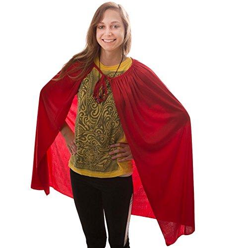 Red Super Hero Cape 36