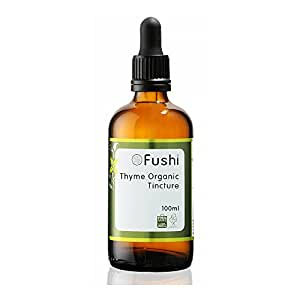 Fushi Thyme Organic Tincture 100ml, 1:2@25%, Certified Organic Biodynamic Harvested