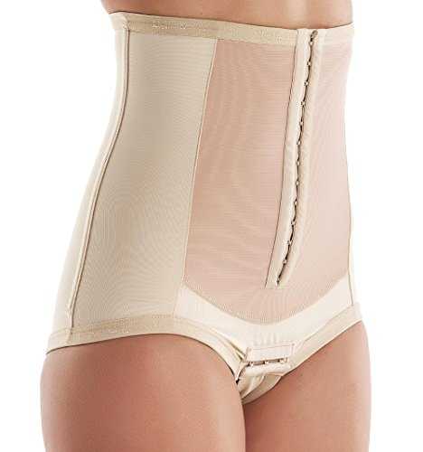 C-Section Recovery, Incision Healing, Compression Abdominal Binder - Medical-Grade Bellefit Corset LARGE by Bellefit (Image #7)