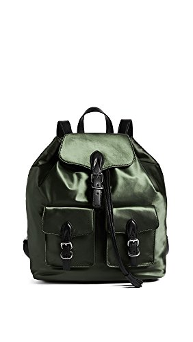 Rebecca Minkoff Women's Alice Backpack, Army Green, One Size by Rebecca Minkoff