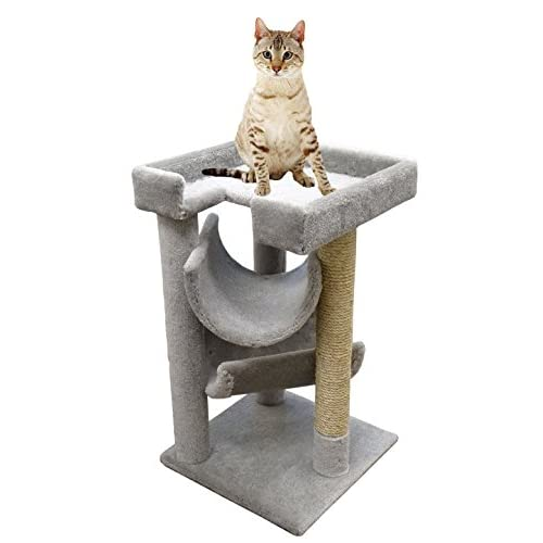 chic cat furniture shabby chic chic cat tree mini 33 inch furniture wood for large cats gray carpet