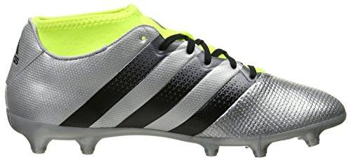 Bacchetta Da Calcio Adidas Performance Mens Asso 16.3 Primemesh Fg / Ag Argento Metallizzato / Nero / Elettrico