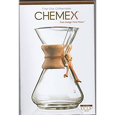Chemex 10-Cup Classic Series Glass Coffee Maker