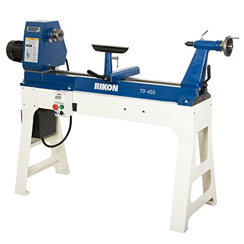 Rikon 70-450 20-Inch x 37-Inch Variable Speed Lathe For Sale