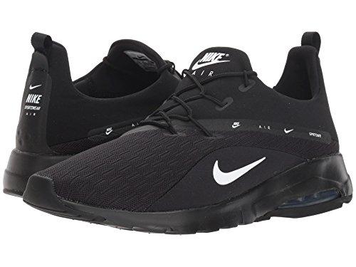 [NIKE(ナイキ)] メンズランニングシューズ?スニーカー?靴 Air Max Motion Racer 2 Black/White 6 (24cm) D - Medium