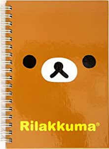 Cuaderno de Anilla del Oso pardo Rilakkuma kawaii