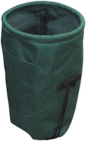 ガーデニングバッグ 園芸資材バッグ 【ポケット付き】 入れ口樹脂リング内蔵 底面開閉可 『マイティ』 〔園芸 ガーデニング用品〕