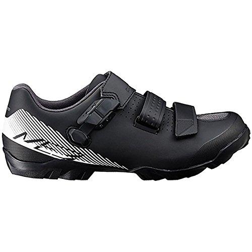 Shimano SH-ME3 Mountain Bike Shoe - Wide - Men's Black/White, 46.0 by Shimano
