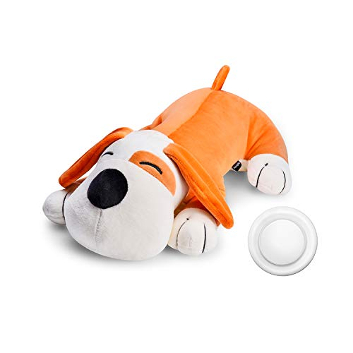 Moropaky Plush Dog Toy Heartbeat Puppy Toy to Separate Anxiety Relief for Puppy Calming Create Training Sleep Aid Behavioral Aid Dog Toys [ for Dogs Cats Pets ]