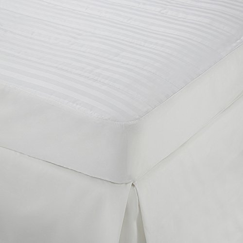 Martex Damask Stripe Mattress Pad, Full