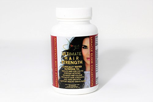 Price comparison product image Hair Strength Growth Supplements by Joyce Giraud Ultimate Hair Strength.Reduces Hair Loss and Thinning For Long, Strong, healthy, Hair. Maracuja, Moringa, Argan & Buriti oil