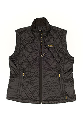 Heated Nylon Vest - VOLT Women's Cracow Heated Vest, Black, Small