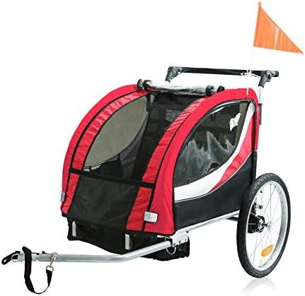 SAMAX PREMIUM Remolque de Bicicleta para Niños 360° girable Kit de ...