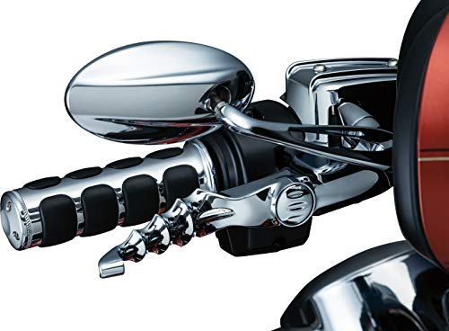 Kuryakyn 1984 Motorcycle Handlebar Accessory: Zombie Clutch and Brake Trigger Levers for 2017-19 Harley-Davidson Touring Motorcycles, Chrome, 1 Pair ()