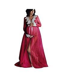 BOLUOYI Maternity Clothing Dresses,Maternity Dresses for Photography,Maternity Dresses for Baby Shower