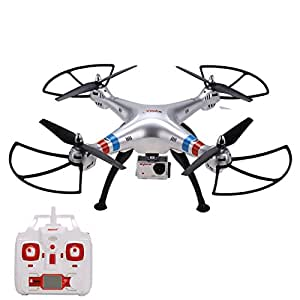 Coocheer Syma X8G 2.4GHz 4CH 6 Axis Headless Mode RC Drone Quadcopter with 5MP HD Camera
